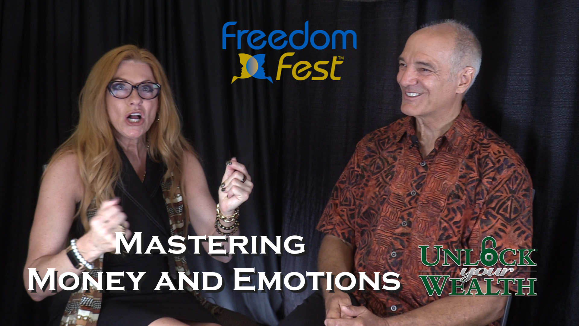 Mastering Money and Emotions at FreedomFest Featuring Dr. Joel Wade show art