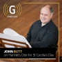 Artwork for Handel's Ode for St Cecilia's Day, with John Butt