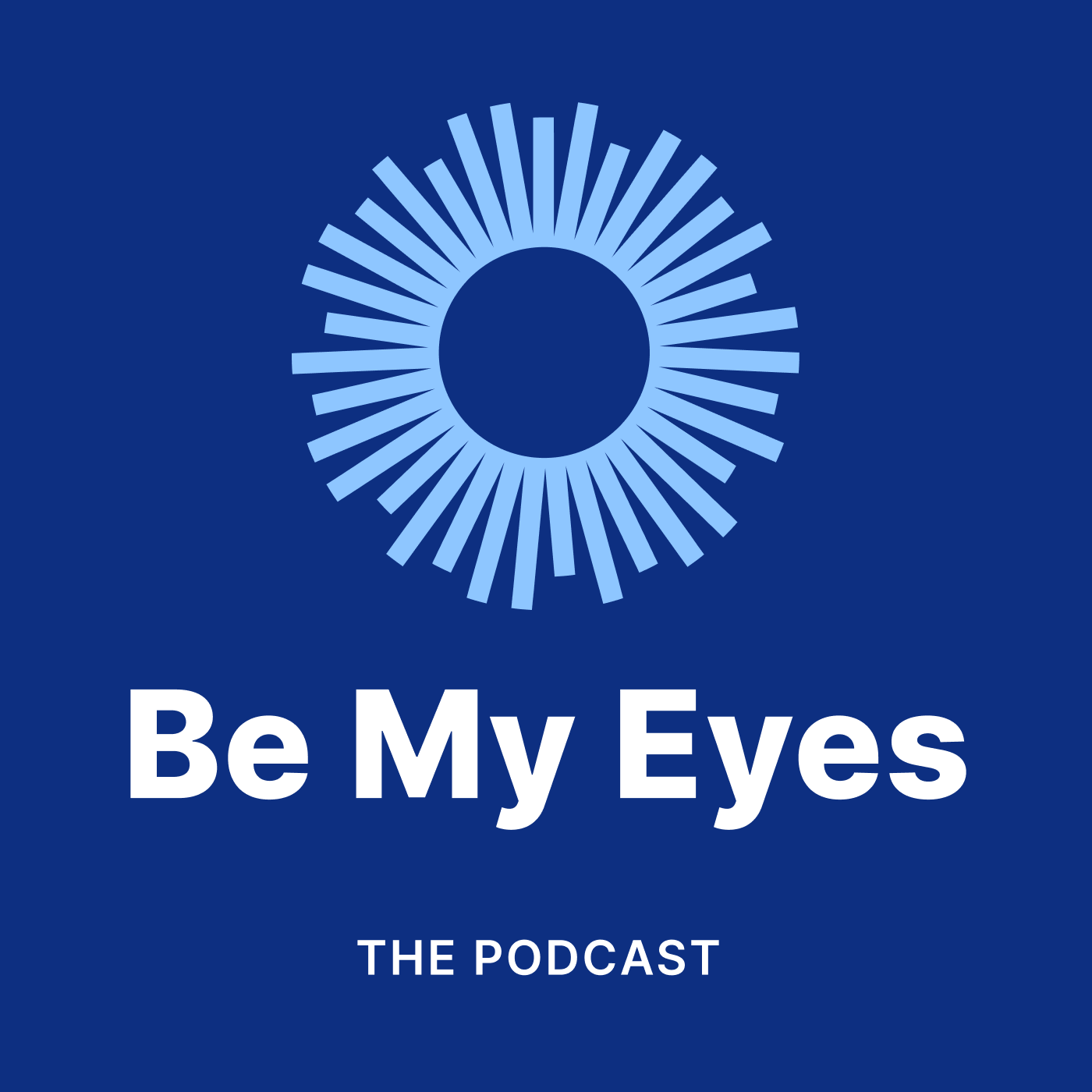 The Be My Eyes Podcast show art