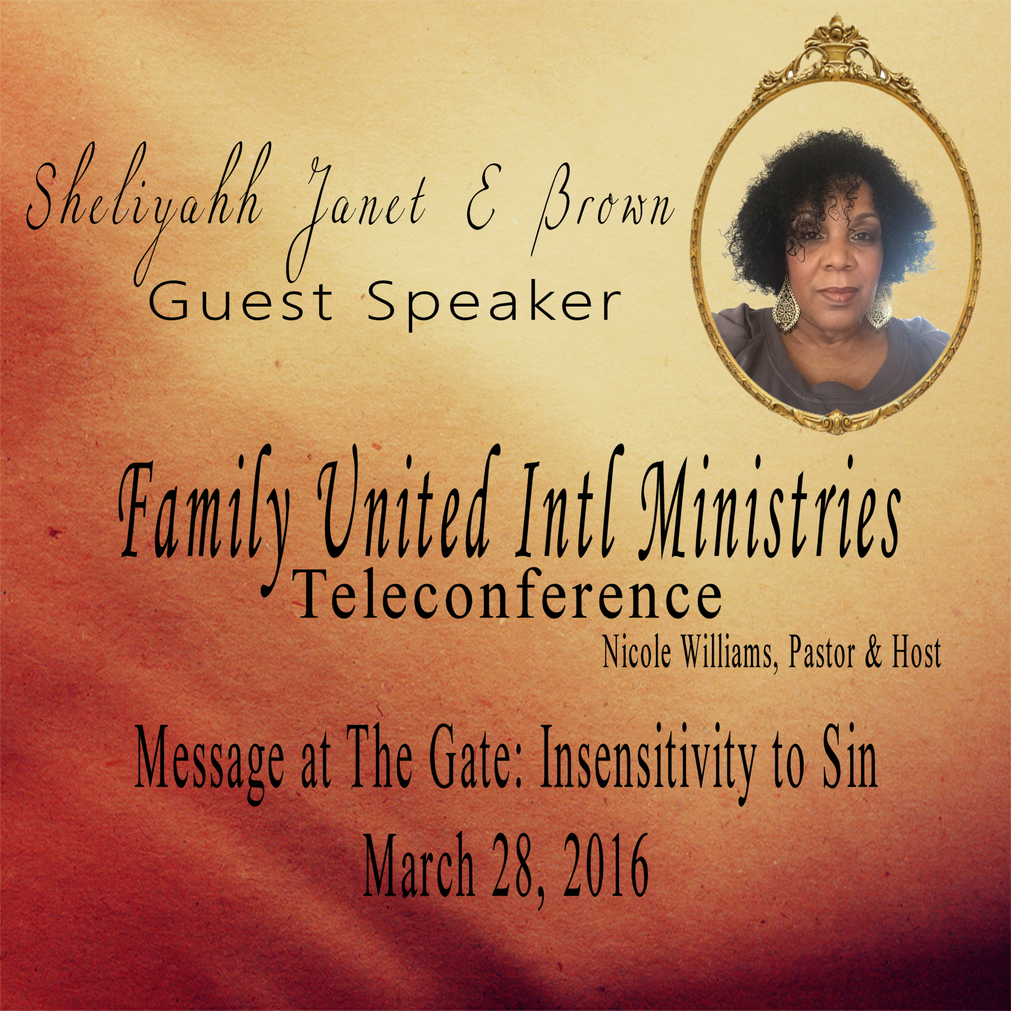 Message at The Gate: Insensitivity to Sin