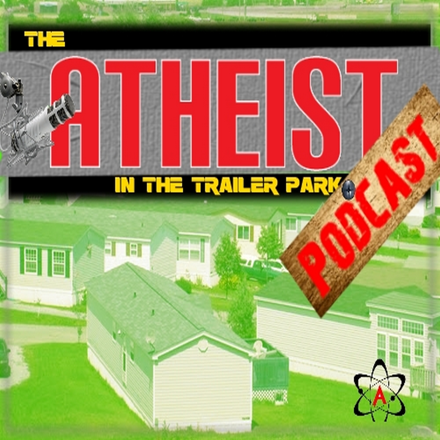 The Atheist in the Trailer Park show art