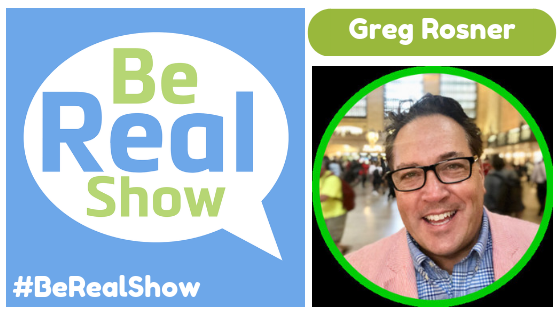 #168 - Greg Rosner gets REAL about turning Presentations into Conversations show art