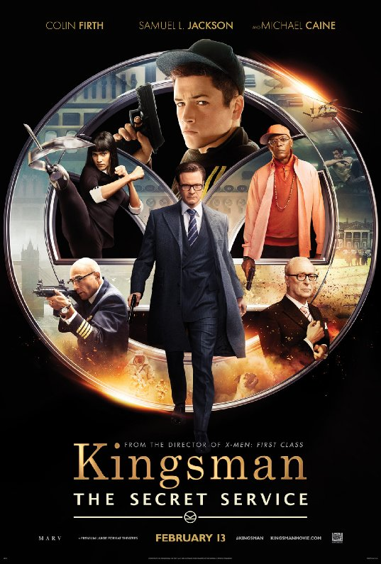 Ep. 114 - Kingsman: The Secret Service (Wanted vs. Kick-Ass)