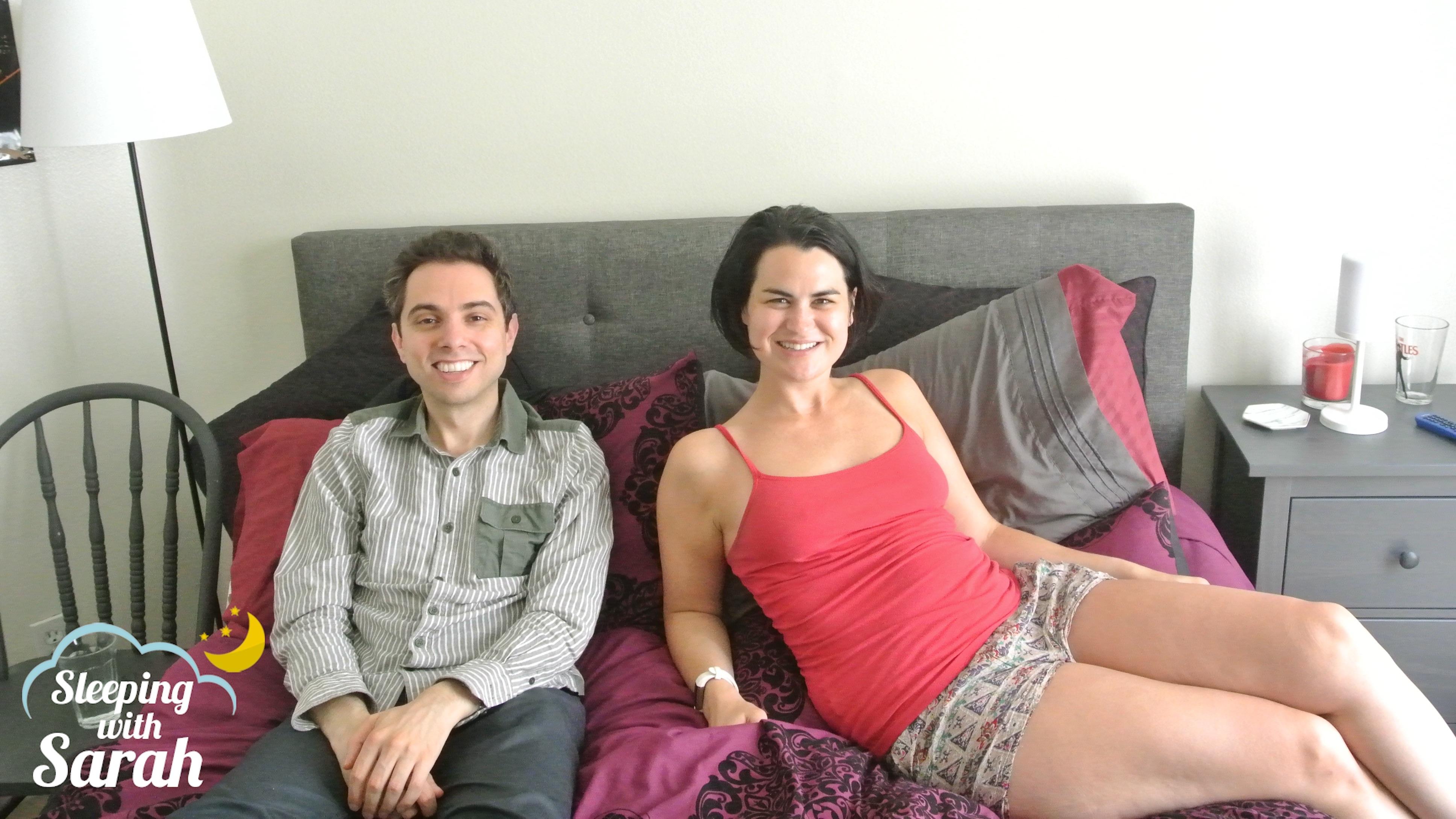 Matt Kirshen and Sarah Albritton Sleeping with Sarah podcast Ep 86