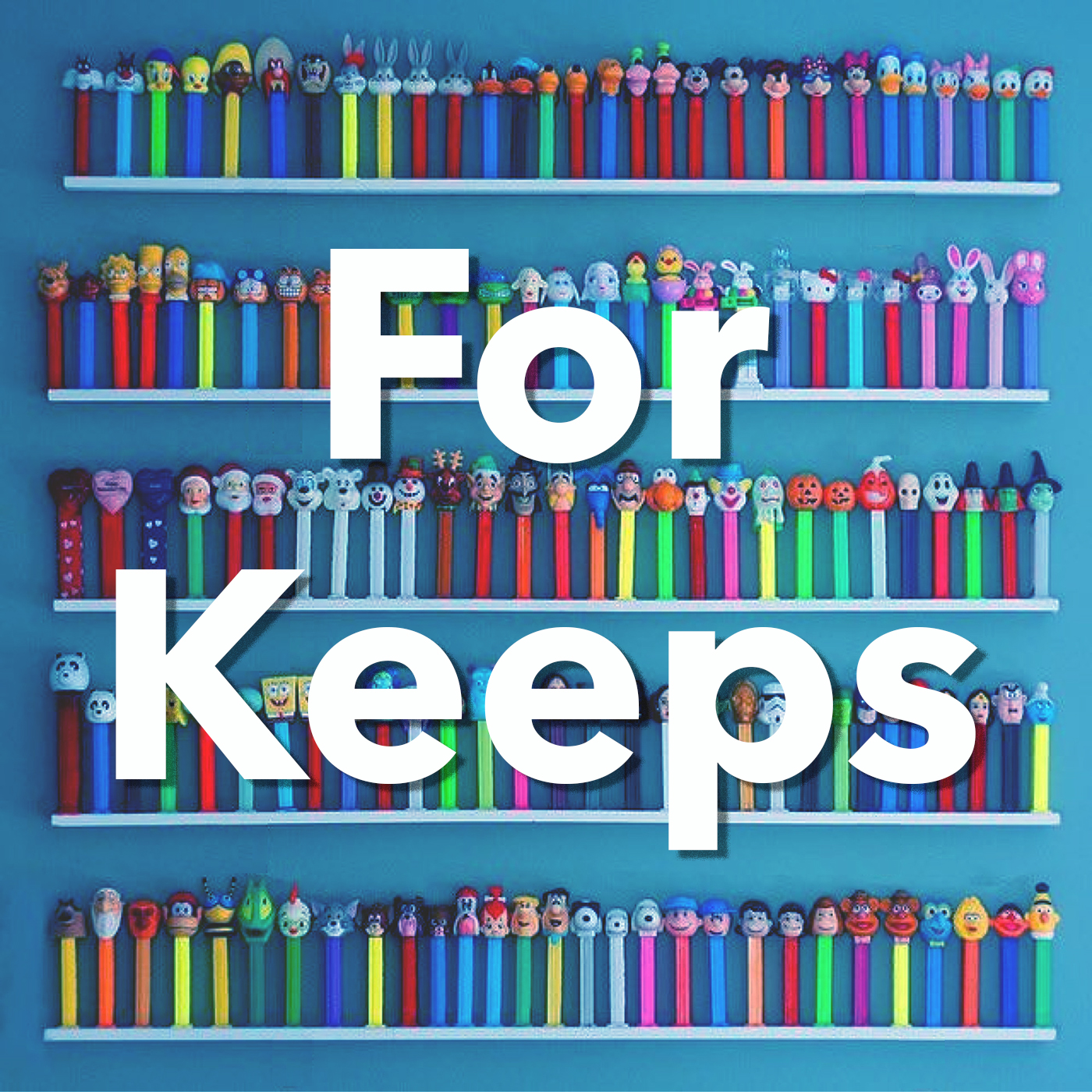 For Keeps show art