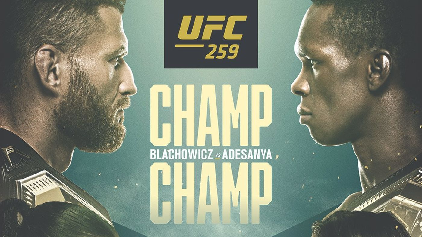 Artwork for Champion vs Champion for UFC 259