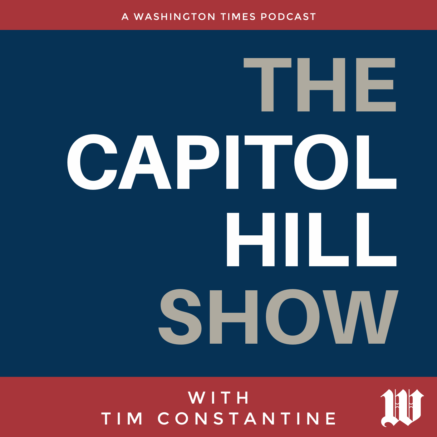 The Capitol Hill Show With Tim Constantine show art