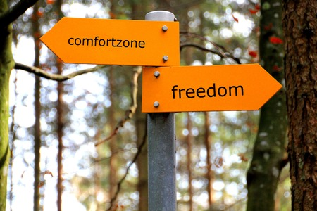 Comfort Zone or Freedom - You Choose - www.TheRealTruthAboutYou.com