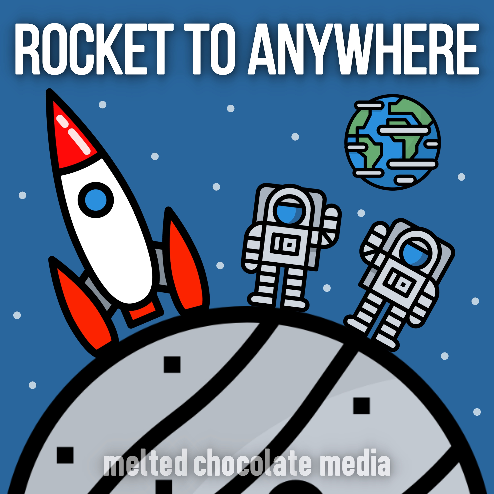 Rocket to Anywhere show art