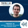 Artwork for Trends in Natural Language Processing with Sebastian Ruder - TWiML Talk #216