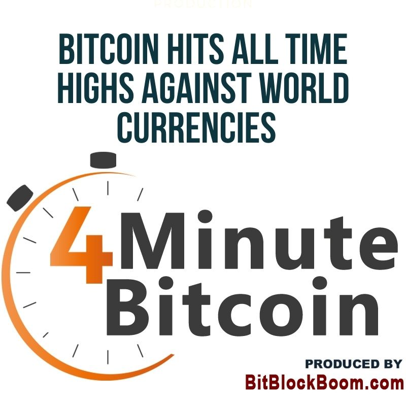 Bitcoin Hits All-Time Highs Against Numerous World Currencies