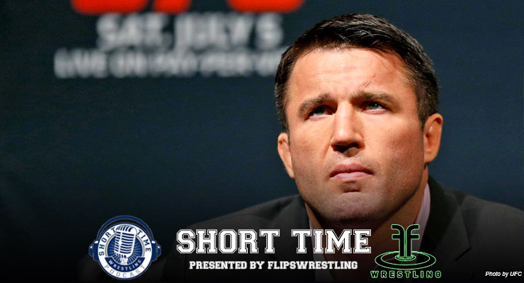 Artwork for Merry Wrestling Christmas from the always opinionated Chael Sonnen - ST231