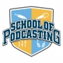 Artwork for New Logo for the School of Podcasting