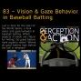 Artwork for 83 – Vision & Gaze Behavior in Baseball Batting