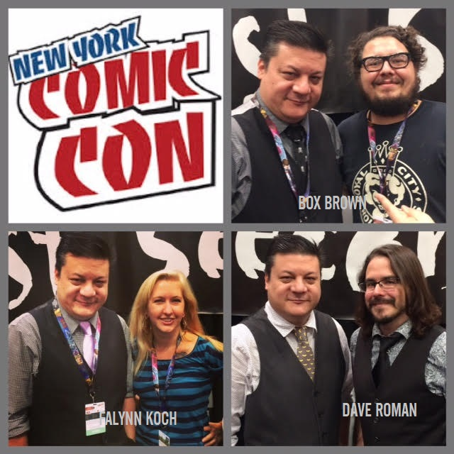 Episode 725 - NYCC: First Second Special w/ Box Brown/Falynn Koch/Dave Roman!