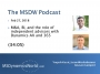 Artwork for MSDW Podcast:  M&A, BI, and the role of independent advisors with Dynamics AX and 365
