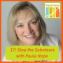 Artwork for 17: Stop the Saboteurs with Paula Hope