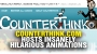 Artwork for Counterthink.com hosts INSANELY hilarious ANIMATIONS