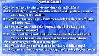 Ask Dr. Doreen - November 20th, 2013