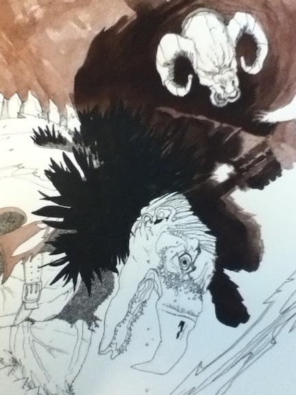 tWoTART: Watercolor Sketch