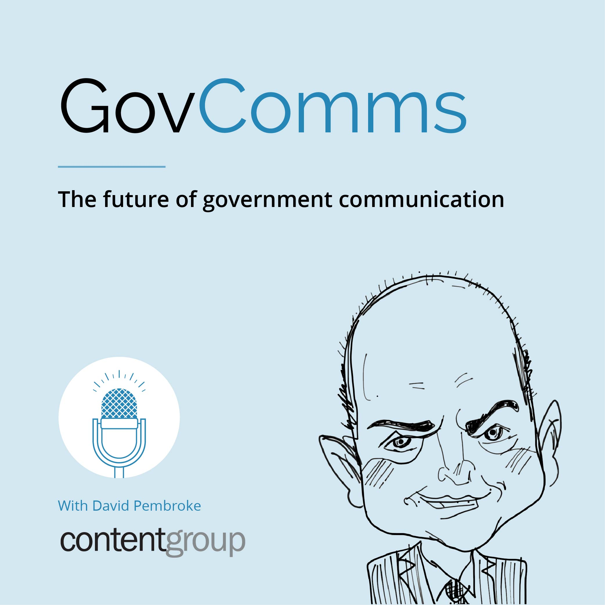 Artwork for Ep #01 Innovations in the future of government communication and contentgroup
