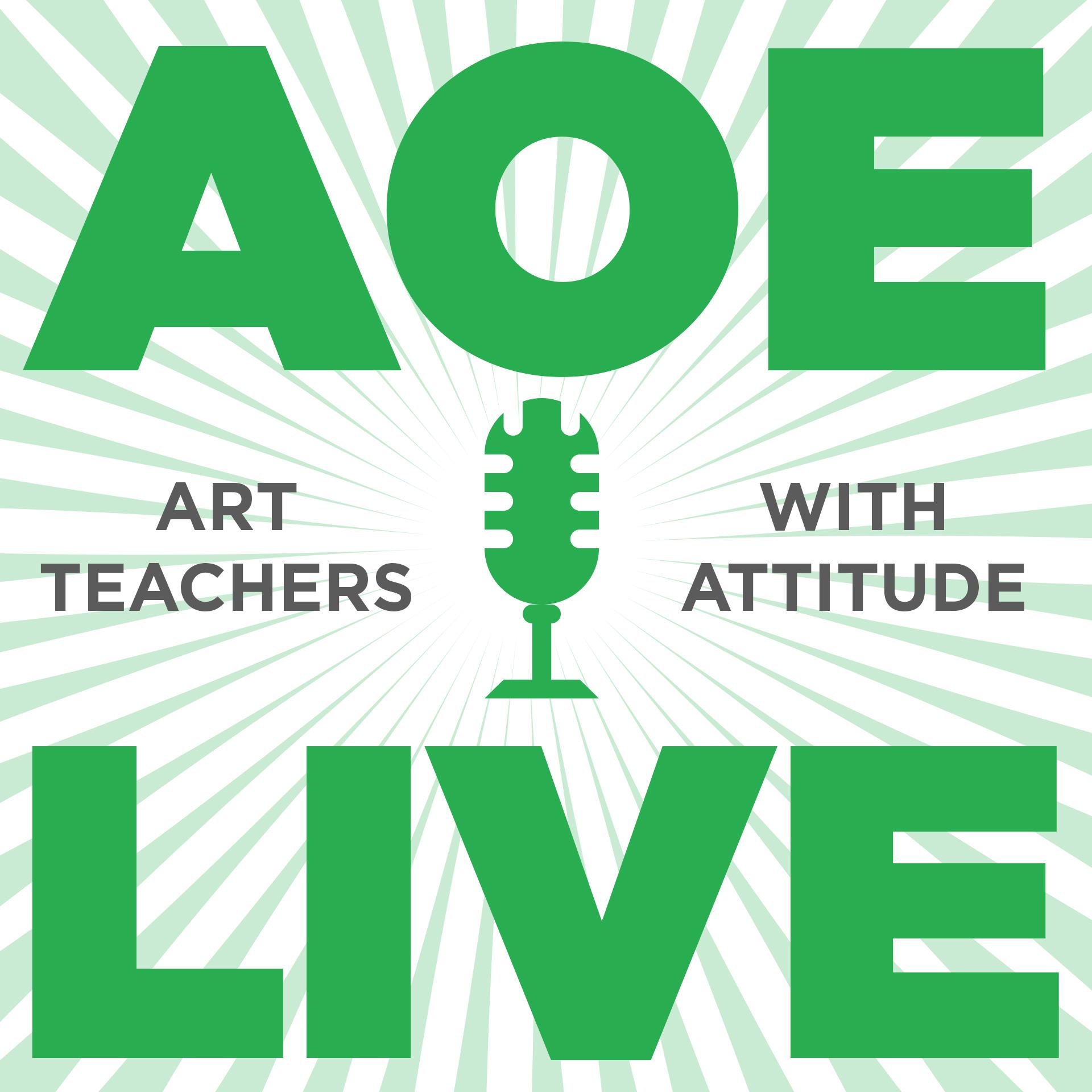 AOE LIVE show art