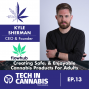 Artwork for Creating Safe, & Enjoyable Cannabis Products For Adults with Kyle Sherman of Flowhub