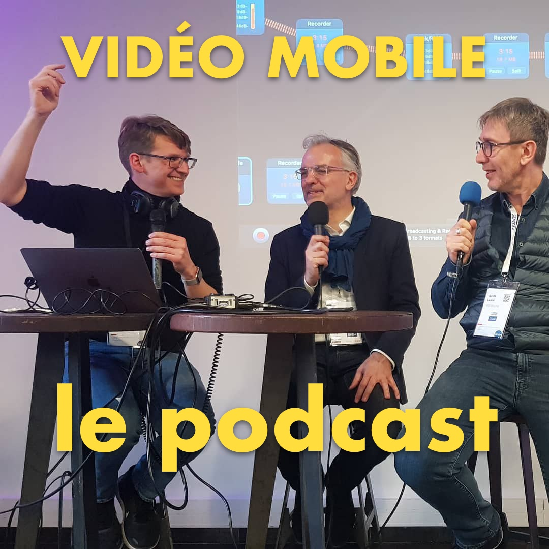 Video Mobile le podcast show art