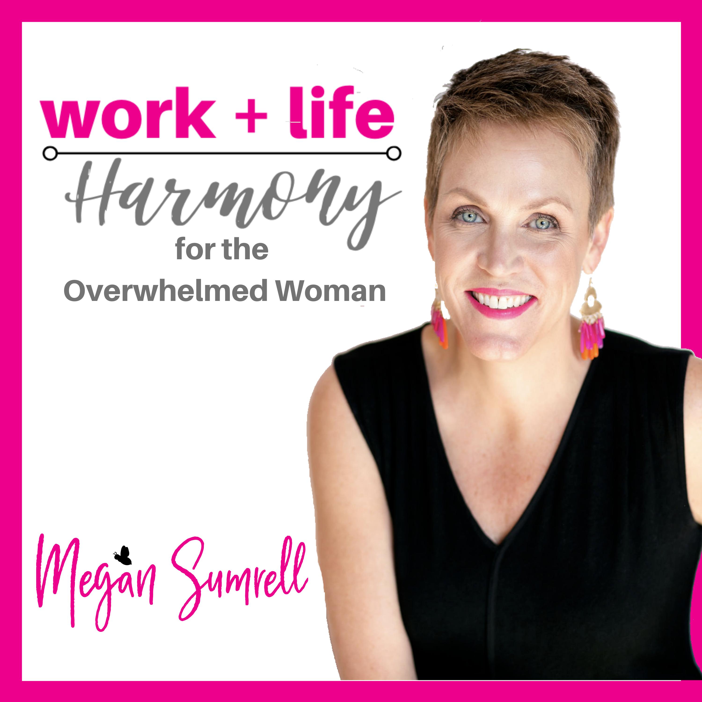 Work+Life Harmony for Overwhelmed Women show art