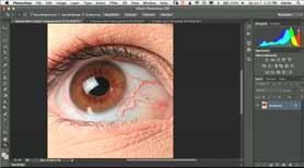 How To Retouch Eyes in Adobe Photoshop CS6