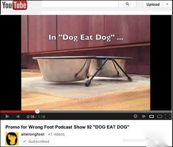 YouTube Promo for Show 92 DOG EAT DOG