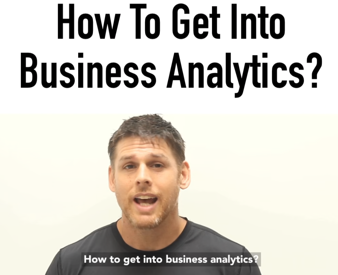 Artwork for How To Get Into Business Analytics | Business Intelligence