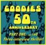 Artwork for 160 - 50th Anniversary Three Interview Thriller