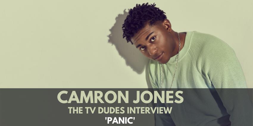 Camron Jones, 'Panic' - The TV Dudes Interview show art