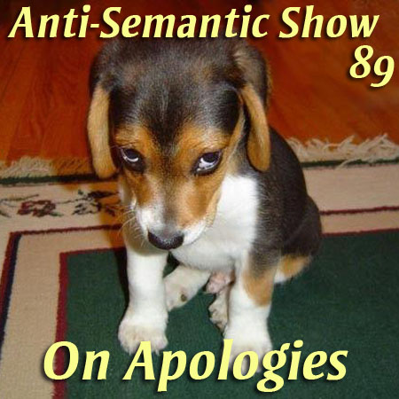 Episode 89 - On Apologies