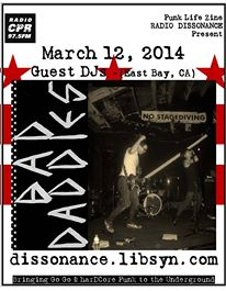 03.14.14 Bad Daddies (East Bay, CA) with Punk Life Zine