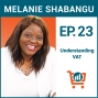 Artwork for Selling on Amazon in Europe: Understanding Value Added Tax (VAT) with Melanie Shabangu, Ep #23