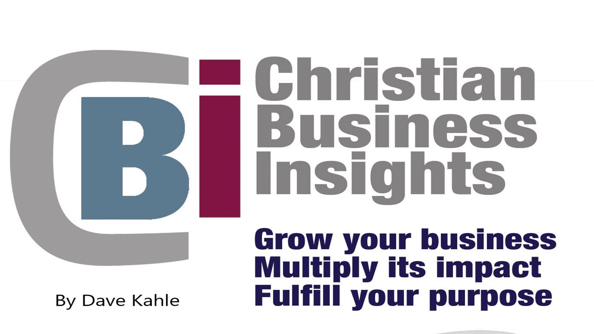 Christian Business Insights show art