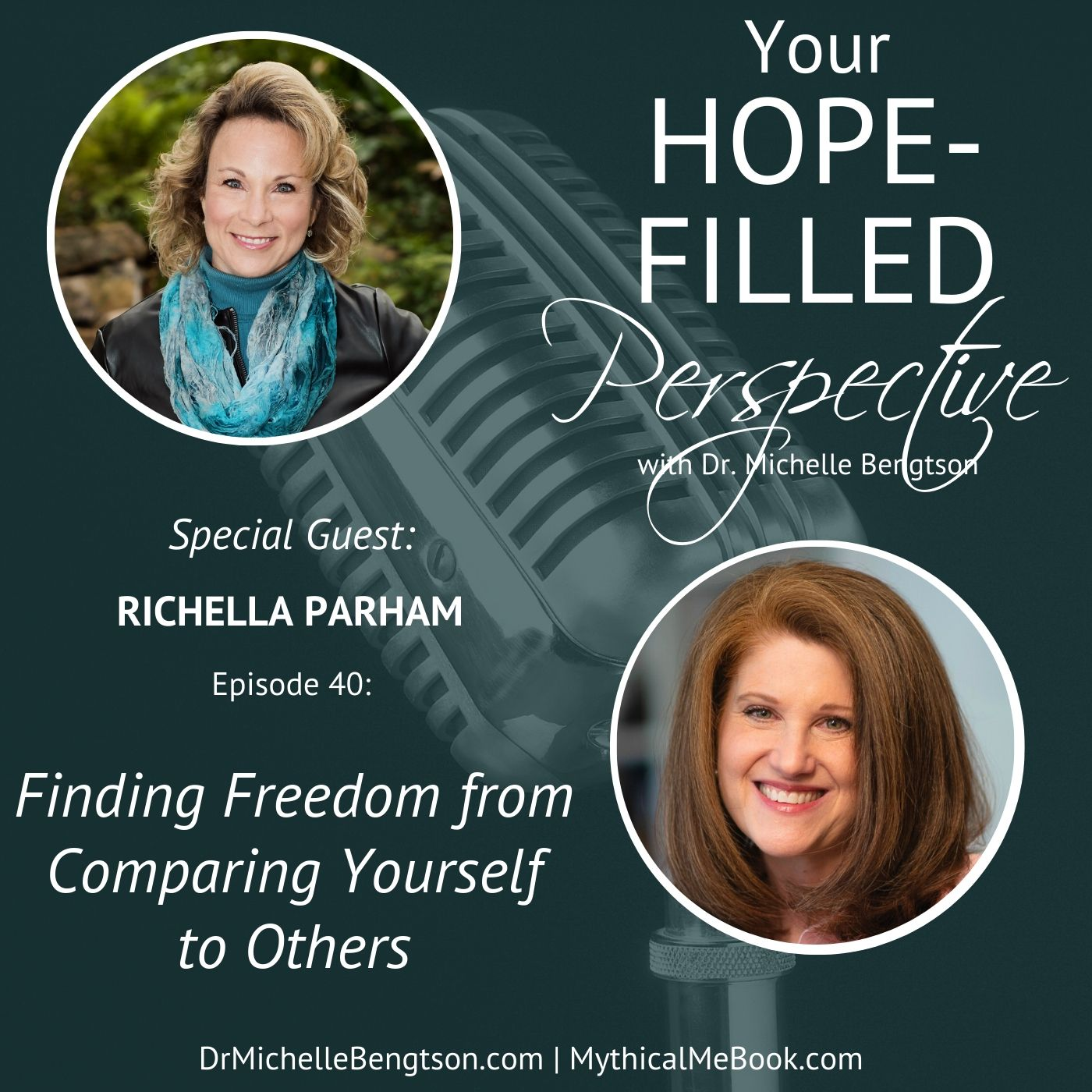 040 Finding Freedom from Comparing Yourself to Others show art