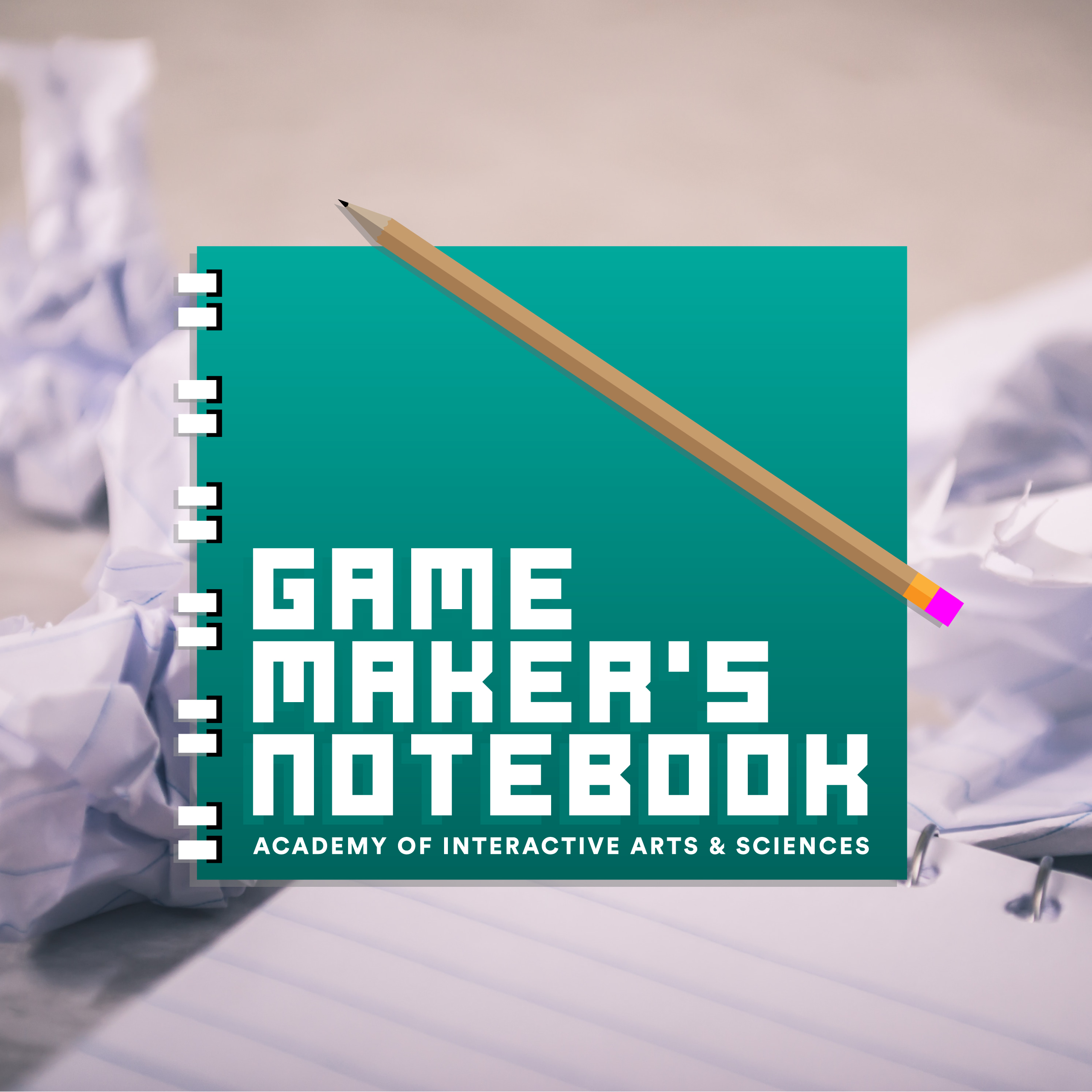 The AIAS Game Maker's Notebook show art