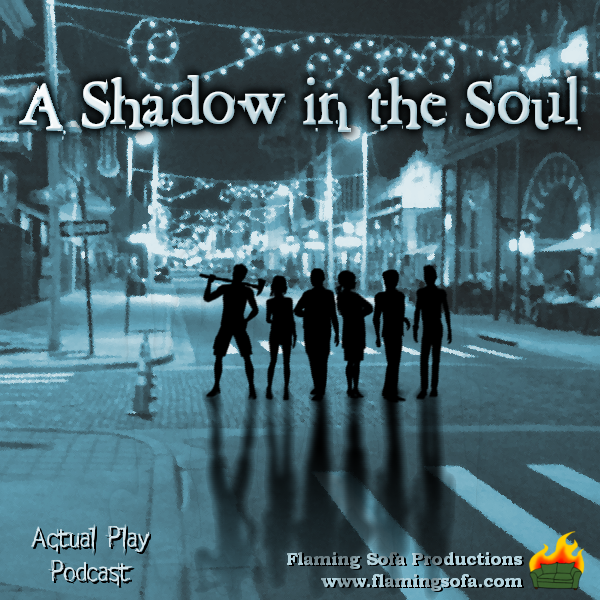 A Shadow in the Soul - A World of Darkness Actual Play logo