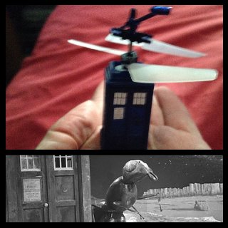 Tim's Take On: Episode 226(TARDIS copter review/Doctor Who: The Web Planet mini review)
