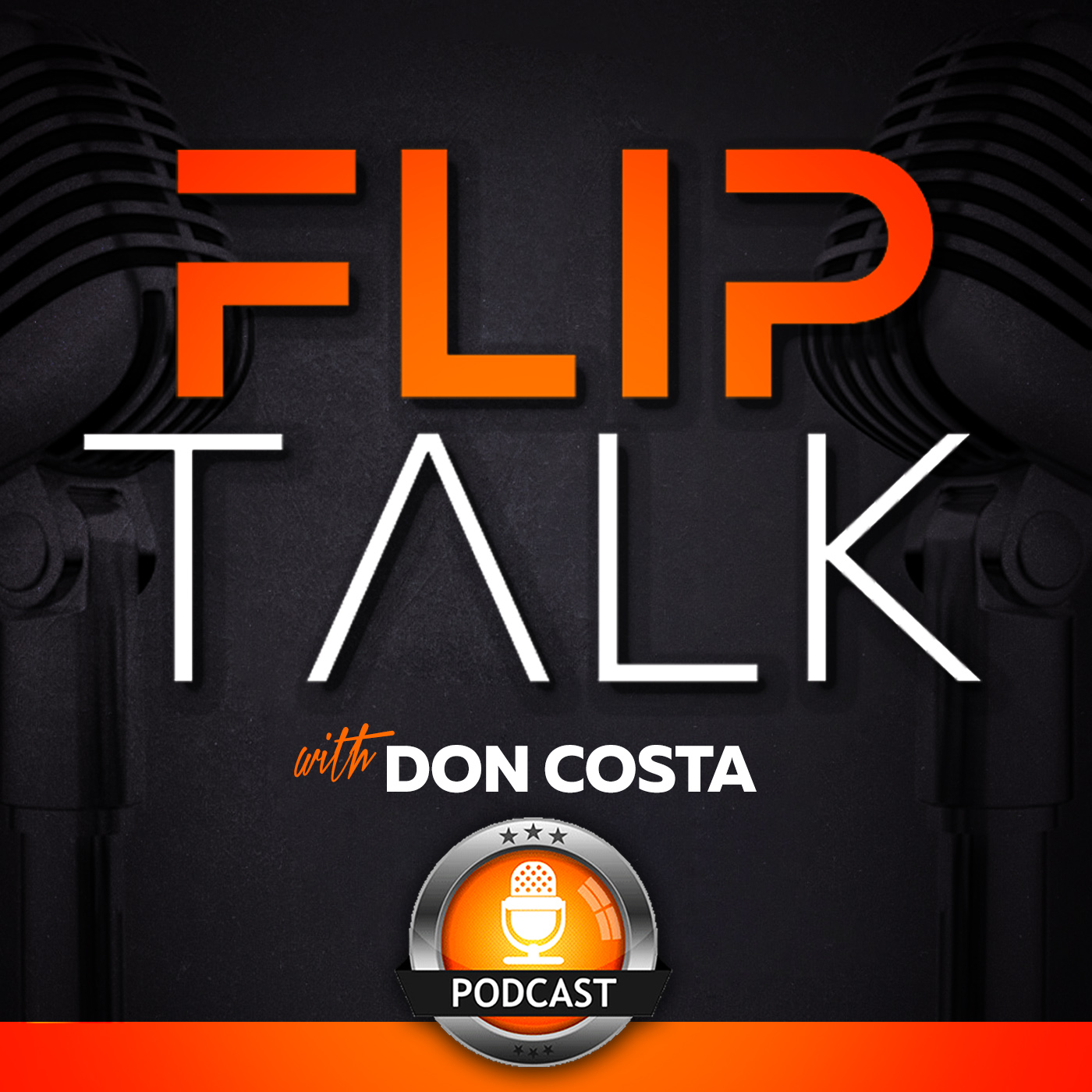 The Flip Talk Podcast with Don Costa  show art