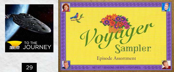 To The Journey 29: Whitman's Sampler... of Voyager