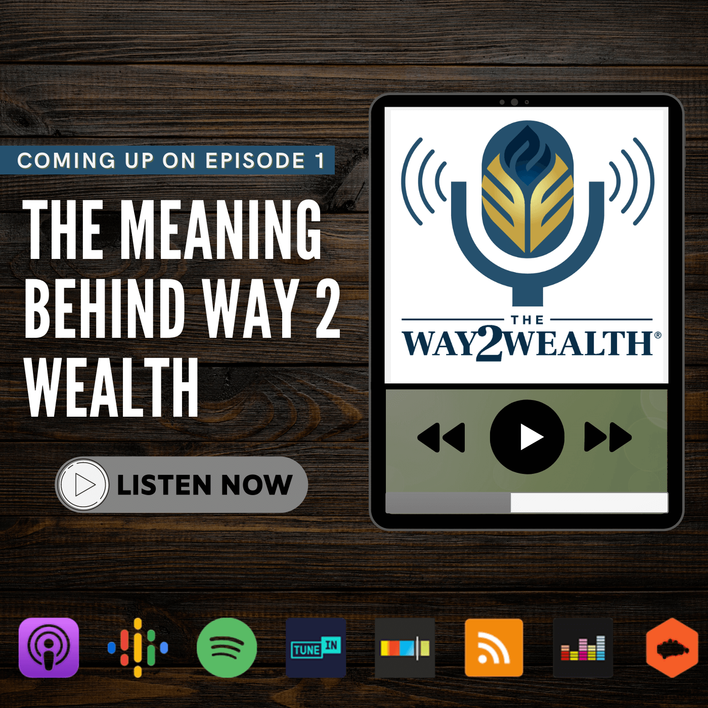 Ep 1: The Meaning Behind Way 2 Wealth show art