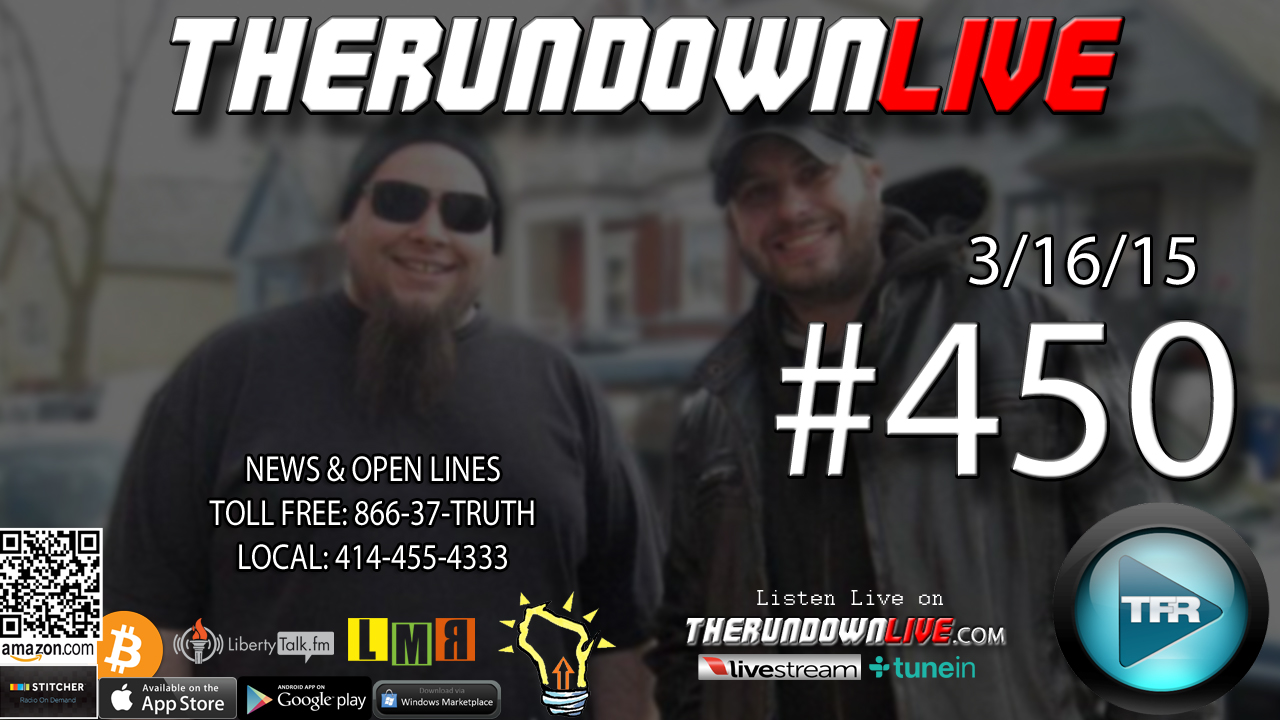The Rundown Live #450 Open Lines (Global Warming,Pot,Food)