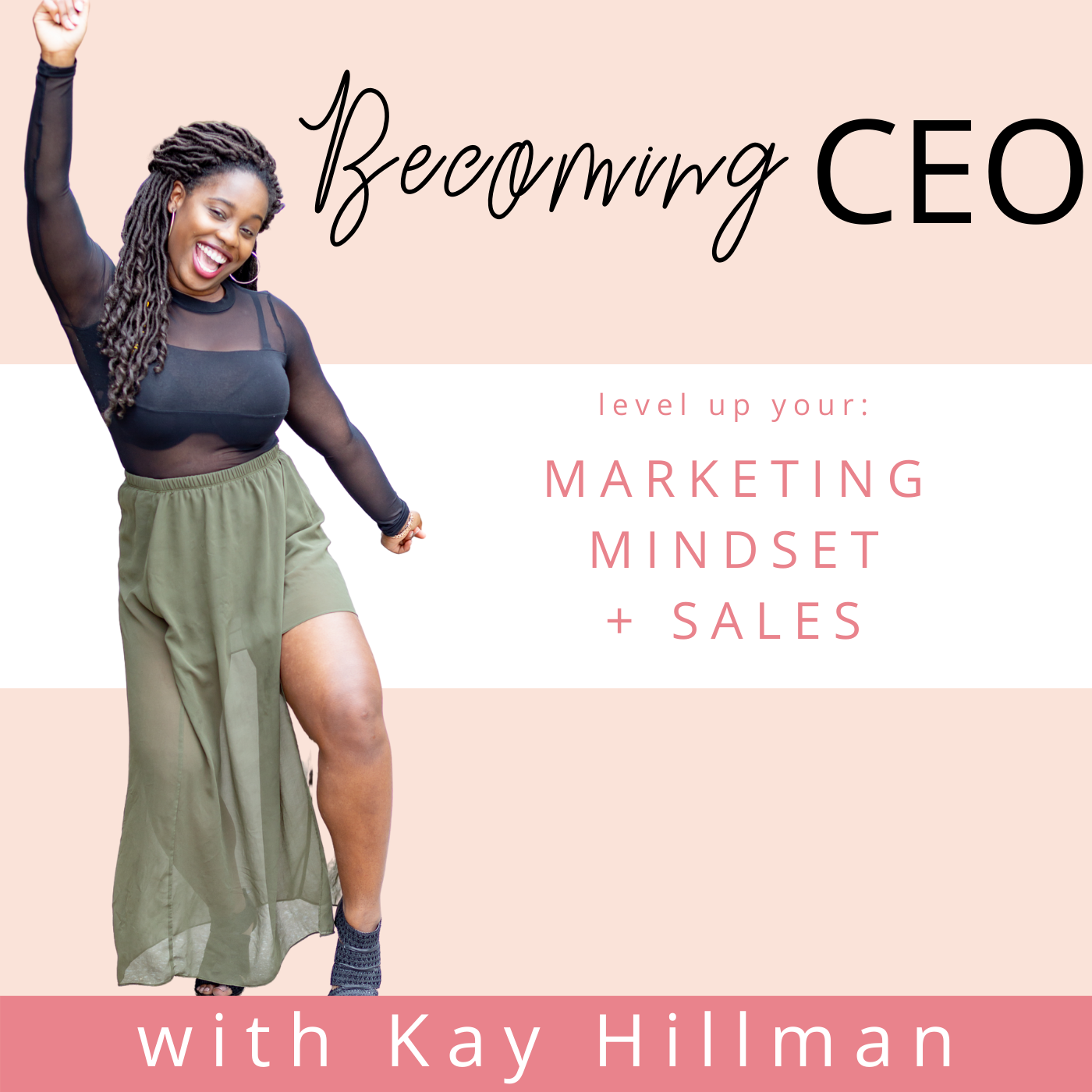 BecomingCEO - Online Marketing, Sales Strategy and Mindset Tips for Christian Female Entrepreneurs! show art