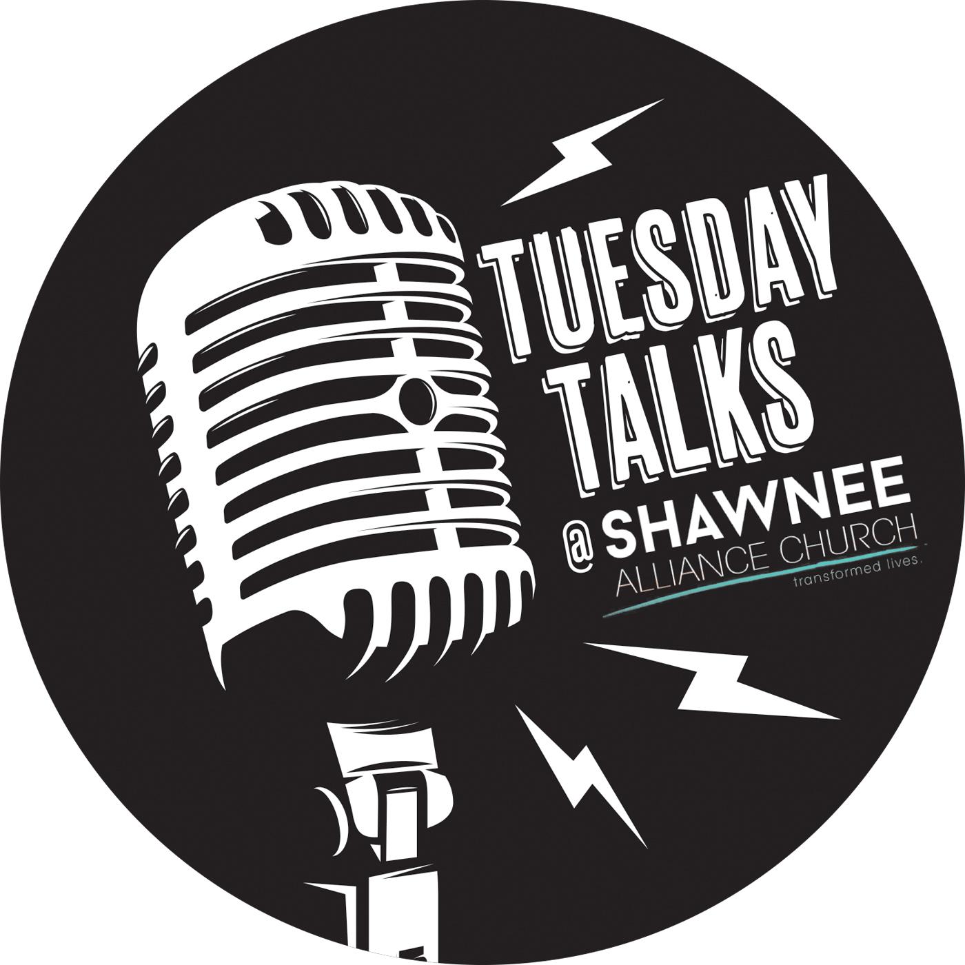 Tuesday Talks With Shawnee Alliance Church show art