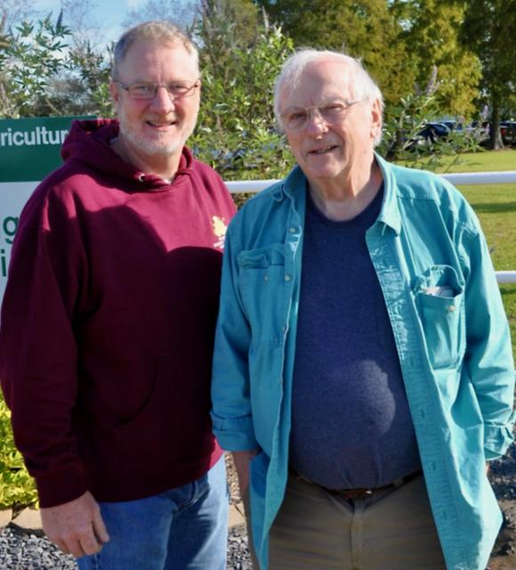 Steve Coy and Thomas Rinderer