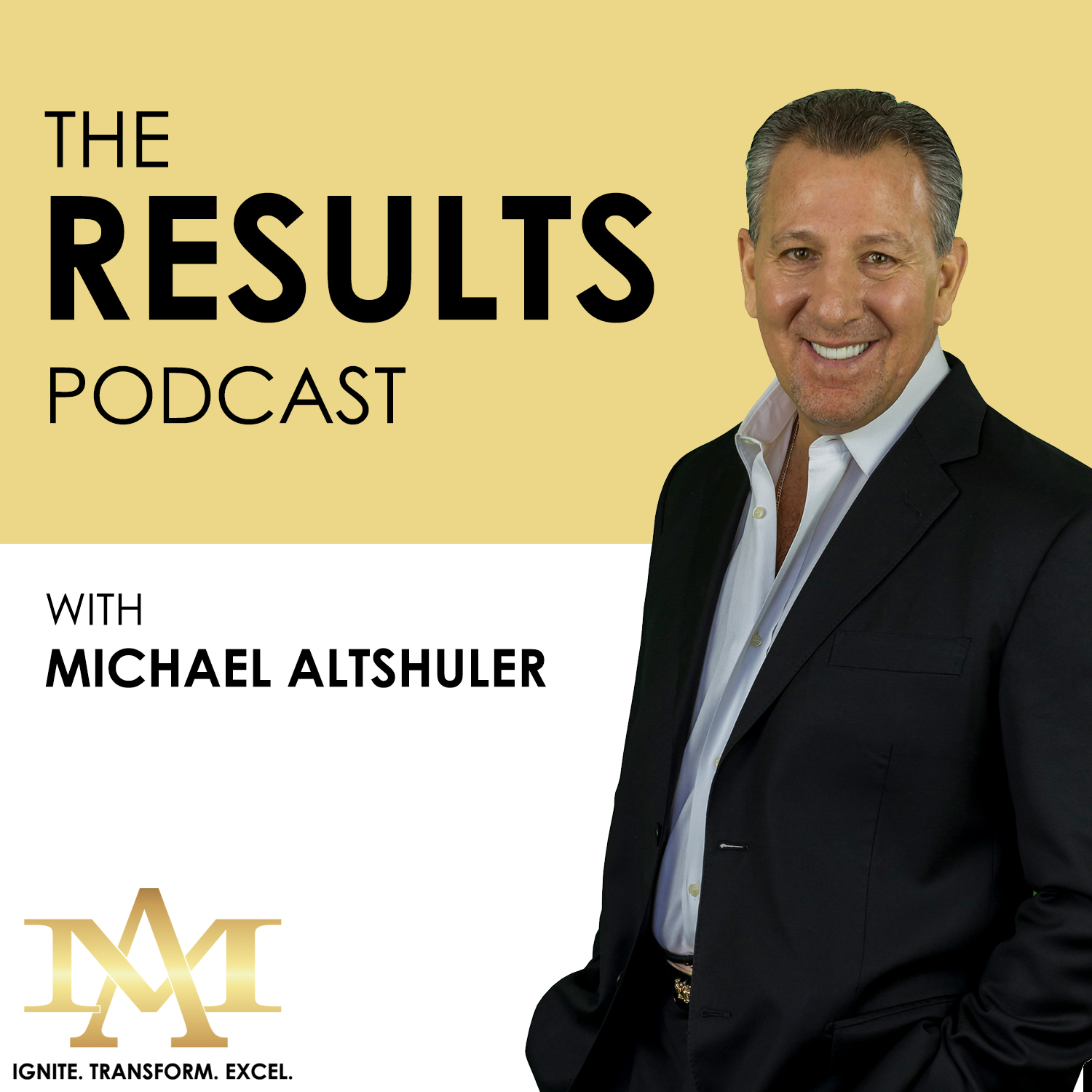 The Results Podcast with Michael Altshuler show art